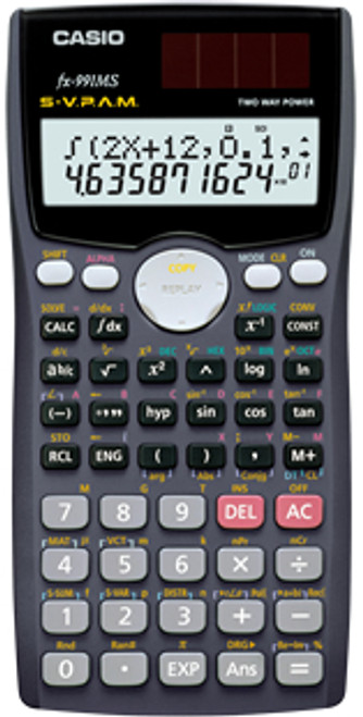 Casio FX-991MS Standard Non Programmable Scientific Calculator