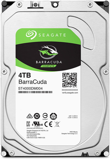 Seagate BarraCuda 4TB Internal Hard Drive HDD – 3.5 Inch Sata 6 Gb/s 5400 RPM 256MB Cache For Computer Desktop PC