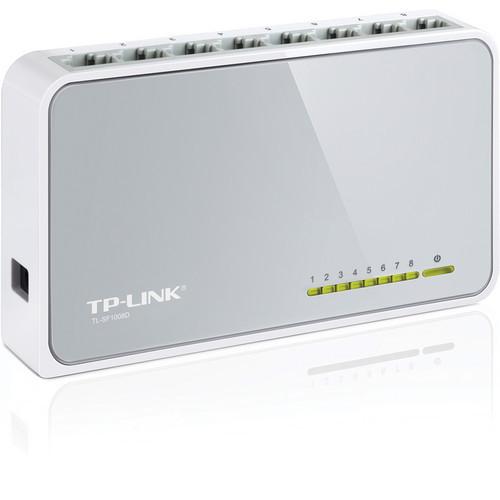 TP-Link SF1008D Mini Switch 8 Port 10/100 Plastic Case