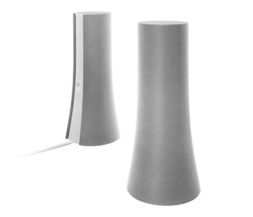Logitech Bluetooth Speakers Z600 for PC/Mac computer, tablet and smartphone - White