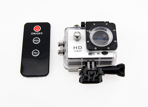 Action Camera WiFi  with remote