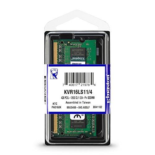 Kingston 4GB DDR3L 1600 MHz SODIMM (KVR16LS11/4)