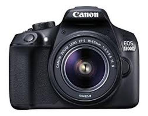 Canon EOS T6 / 1300D with EF-S 18-55mm 18.7MP CMOS 5184 x 3456 Pixels (Black)