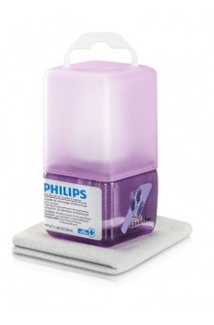 Philips Anti-Bacterial Screen Cleaning kit, 50 CC- Lavender ( SVC1117L/10)