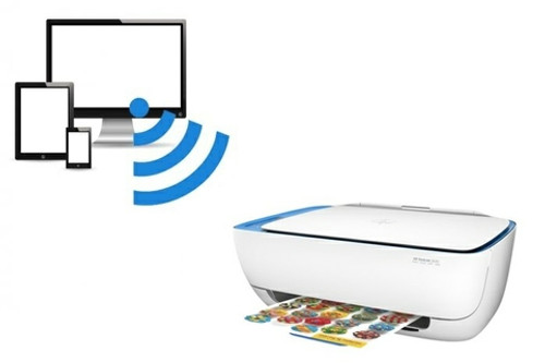 HP DeskJet 3639 A4 All-in-One Printer Colour Print, Copy, Scan, Wireless Printing