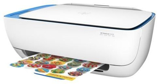 HP DeskJet 3639 Office Bundle Pack with additional Black and Color cartridges A4 All-in-One Printer Colour Print, Copy, Scan, Wireless Printing. FREE 500 Sheets of A4 Paper.