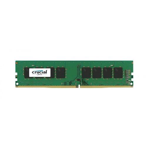 Crucial 8GB Single DDR4 2400 MT/s (PC4-19200) DR x8 DIMM 288-Pin Memory - CT8G4DFD824A