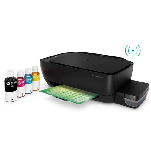 HP Ink Tank Wireless 415 All-in-One color Printer, Copy, Scan, Wireless Printing (Z4B53A)