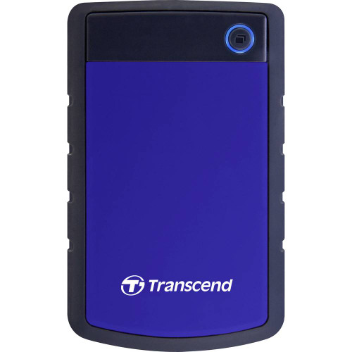 Transcend StoreJet 25H3 2.5 Inch USB 3.0 4TB Portable Hard Disk Drive Blue (TS4TSJ25H3P )