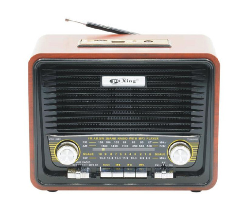 Pu Xing Radio PX-P18BT   AM/FM/SW 3BAND RADIO  USB/TF FUNCTION  BUILT-IN RECHARGEABLE BATTERY  EXTERNAL DC 6V IN JACK