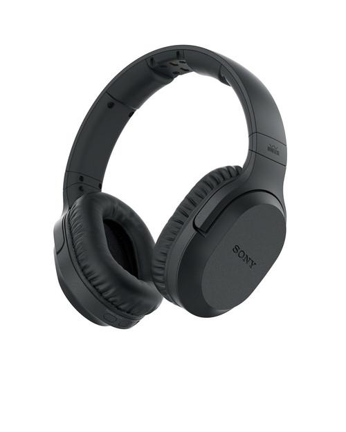 SONY MDR-RF895RKZ BLACK WIRELESS HEADPHONES