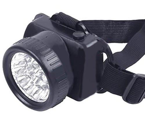 LED Headband Light/Lamp - Long Shot Headlamp ~ 7 High Intensity Bulbs by Baiwang