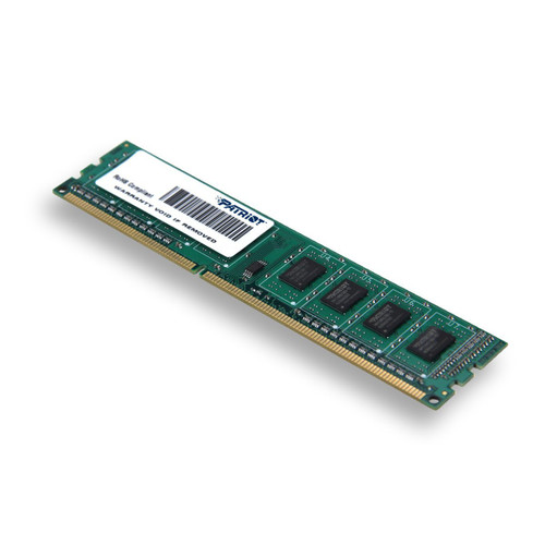 Patriot Signature 4 GB PC3-10600 (1333 MHz) DDR3 Desktop Memory PSD34G13332 - 2 Years Warranty