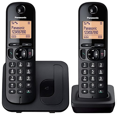 Panasonic KX-TGC212FXB Dect Twin Cordless Phones