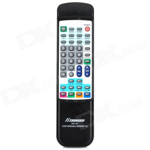 UNIVERSAL REMOTE CHUNGHOP RM-101 10 IN 1