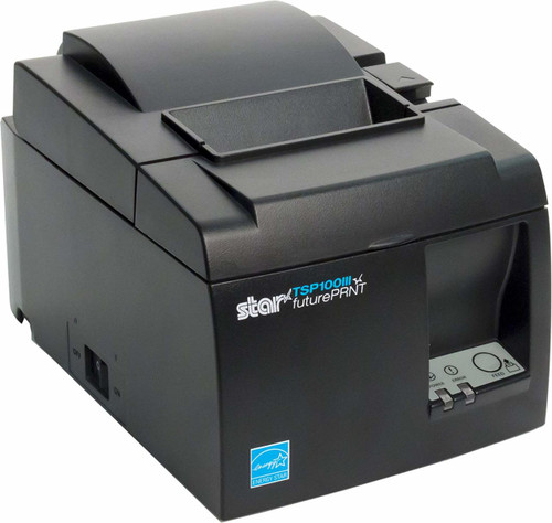 Star Micronics TSP143IIILAN Ethernet (LAN) Thermal Receipt Printer with Auto-cutter and Internal Power Supply