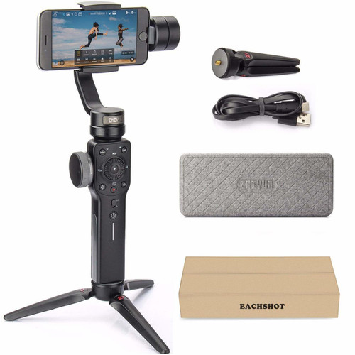 Zhiyun Smooth 4 3-Axis Handheld Gimbal Stabilizer w/Focus Pull & Zoom  - New Smooth-Q/III in 2018 Black