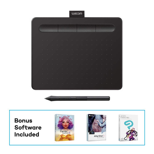 Wacom Intuos Drawing Tablet, with Free Creative Software Download, 7 9