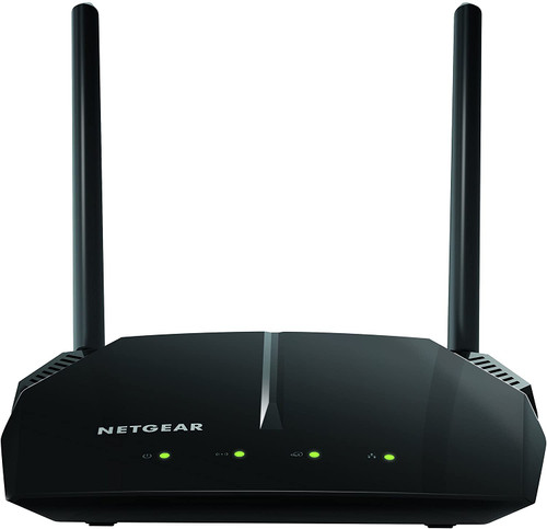 NETGEAR WiFi Router R6120 - AC1200 Dual Band Wireless Speed (up to 1200 Mbps) | Up to 1200 sq ft Coverage & 20 Devices | 4 x 10/100 Fast Ethernet and 1 x 2.0 USB ports