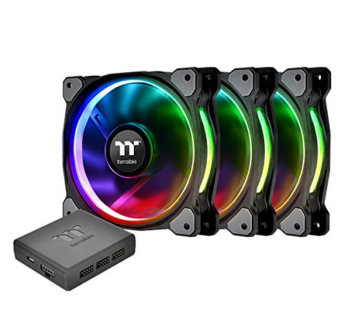 THERMALTAKE RIING PLUS 12 RGB RADIATOR FAN-3PACK