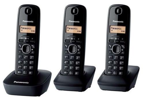 Panasonic KX-TG1613 DECT Digital Cordless Trio Handset