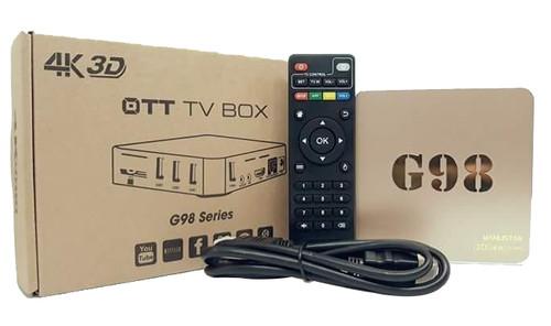 Android Box OTT TV Box G98 Series 4K 3D