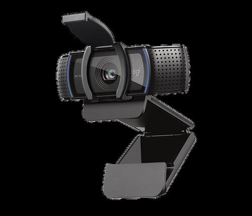 Logitech C920SPro HD Webcam with Privacy Shutter - Widescreen, 1080p Camera 960-001252