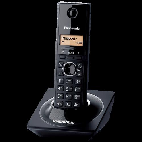 Panasonic KX-TG1711 Black Digital cordless phone - 2 Years Warranty