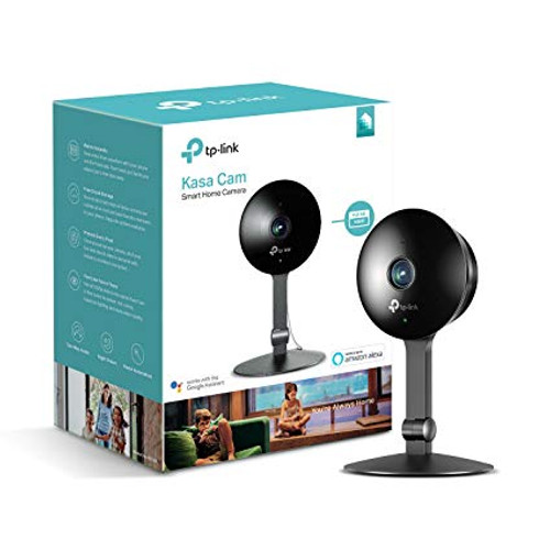 TP-Link KC120 Kasa Cam– WiFi Camera for Home, Indoor Camera, Works with Alexa and Google