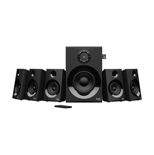 LOGITECH Z607 5.1 SURROUND SPEAKERS [160W] - 1 Year Warranty