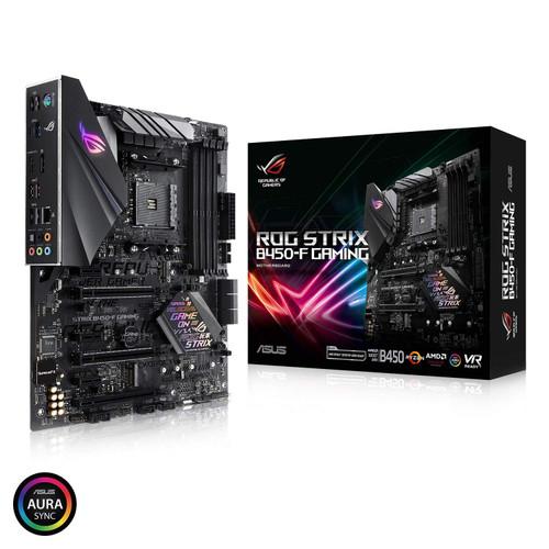 ASUS ROG Strix B450-F Gaming Motherboard (ATX) AMD Ryzen 2 AM4 DDR4 DP HDMI M.2 USB 3.1 Gen2