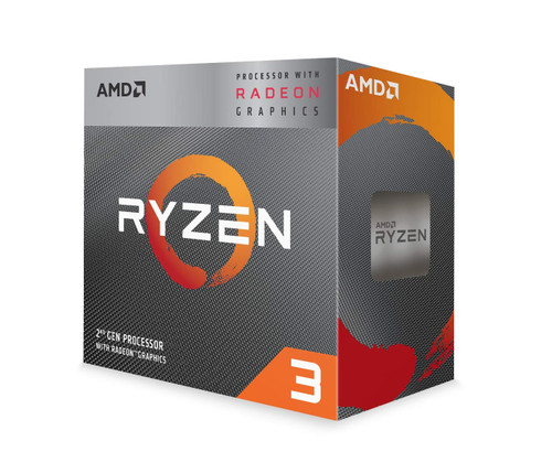 AMD Ryzen 3 3200G 4-Core Unlocked Desktop Processor with Radeon Graphics with Wraith Stealth Cooler