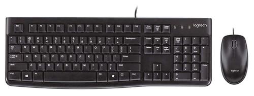 Logitech MK120 USB Desktop Keyboard & Mouse Combo