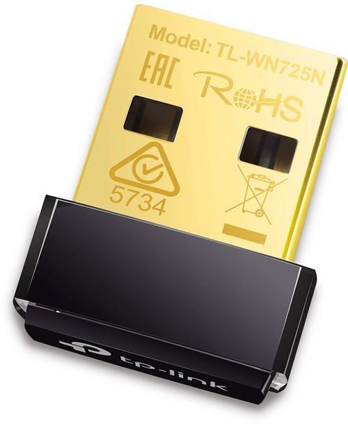 TP-Link 150MBPS USB 2.0 Nano Adapter TL-WN725N
