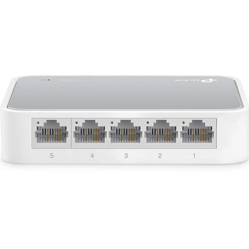TP-Link 5-Port 10/100M Mini Switch Plastic Case - TL-SF1005D