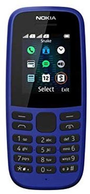 Nokia 105, Dual Sim, TA-1174 (Blue)