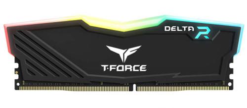 TEAMGROUP T-Force Delta RGB DDR4 8GB 3000MHz (PC4-24000) CL16 Desktop Memory Module ram TF3D416G3000HC16CDC01 - Black