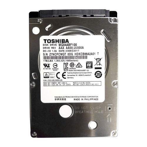 Toshiba 1 TB 5400 RPM-2.5-inch SLIM 7mm Internal Hard Drive MQ04ABF100 - 2 Years Warranty