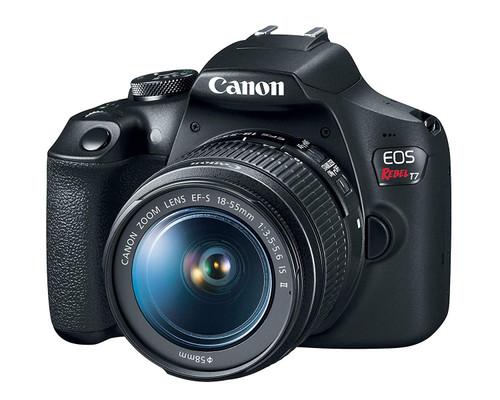 Canon EOS 2000D Rebel T7 Kit with EF-S 18-55mm f/3.5-5.6 is II Lens