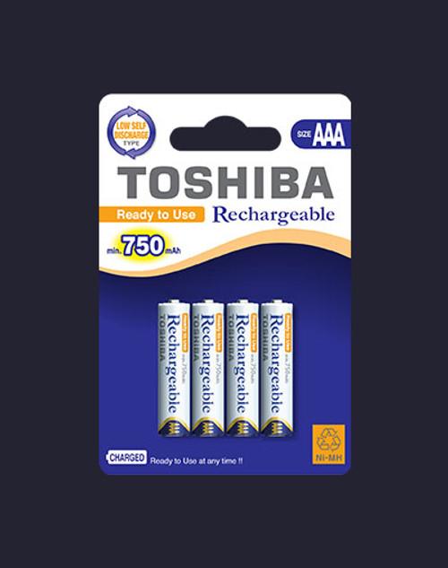 Toshiba Rechargeable Battery 3XAAA