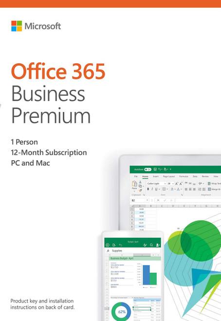 Microsoft Office 365 Business Premium All Language 1-Year