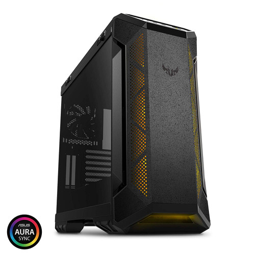 Asus TUF Gaming Case GT501 Tempered Glass, RGB Fans