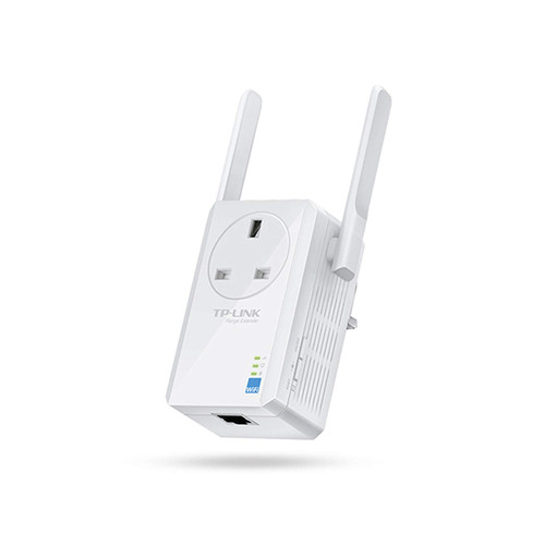 TP-LINK TL-WA860RE 300 Mbps Wireless Range Extender, Power Pass Thru
