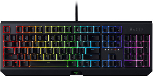 Razer RZ03-02860100-R3M1 Blackwidow Mechanical Gaming Keyboard, with Razer Green Switches (Clicky and Tactile), RGB Chroma Enabled, US Layout
