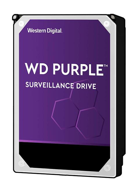 """WD Purple 3TB Surveillance Hard Drive - 5400 RPM Class, SATA 6 Gb/s, 64 MB Cache, 3.5"""" - WD30PURZ"""