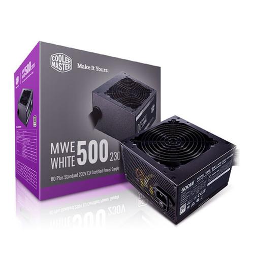 Cooler Master MWE White 500W, 80+, 230V, EU PSU v2