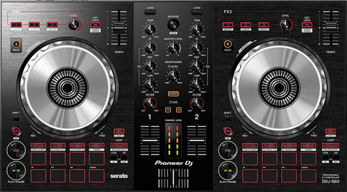 Pioneer DDJ-SB3 2-channel DJ controller for Serato DJ Lite (black)