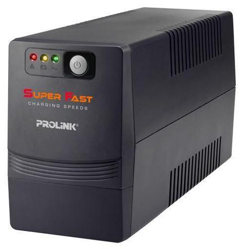 PROLiNK  650VA  PRO700SFC Line Interactive UPS With AVR / Super Fast Charging