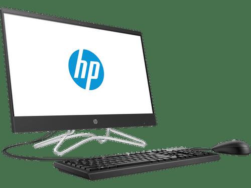 HP 200 G3 All In One PC, i3-8130u, 4GB RAM, 500GB HDD, 9.5 mm Slim DVD-Writer, 30 fps HD webcam, Integrated dual array digital microphone,  280 x 720 21.5-inch diagonal widescreen Full HD anti-glare display, Wifi, Black, Windows 10 Pro