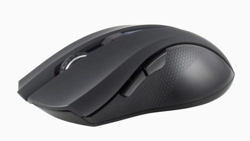 PROLiNK PMW6005 2.4GHz Wireless Nano Optical Mouse (1600DPI/6-button) - Black/Silver